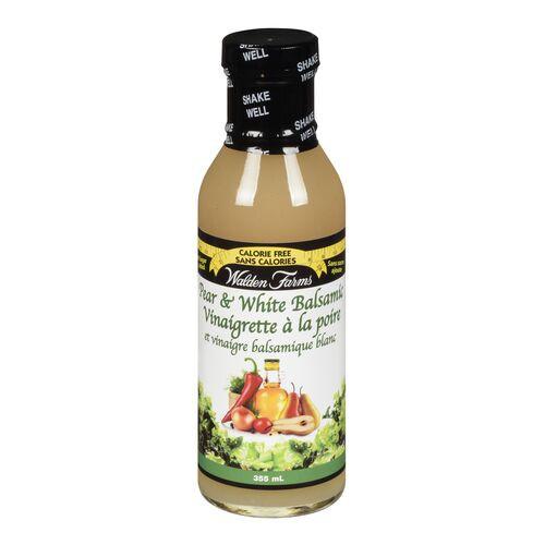 White pear balsamic vinagrette