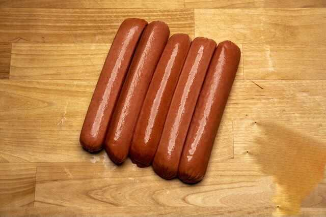 Wagyu Hot Dogs 5 per pack