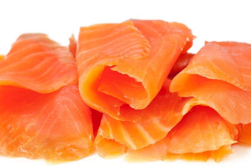 Salmón sliced ahumado en frío 250 gr. Sellado al vacío 250 grs