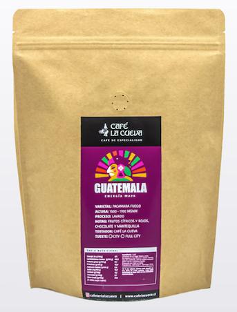 Café en grano Guatemala energía maya Bolsa de 500 grs