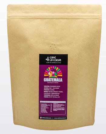 Café en grano guatemala energía maya Bolsa de 1 kg