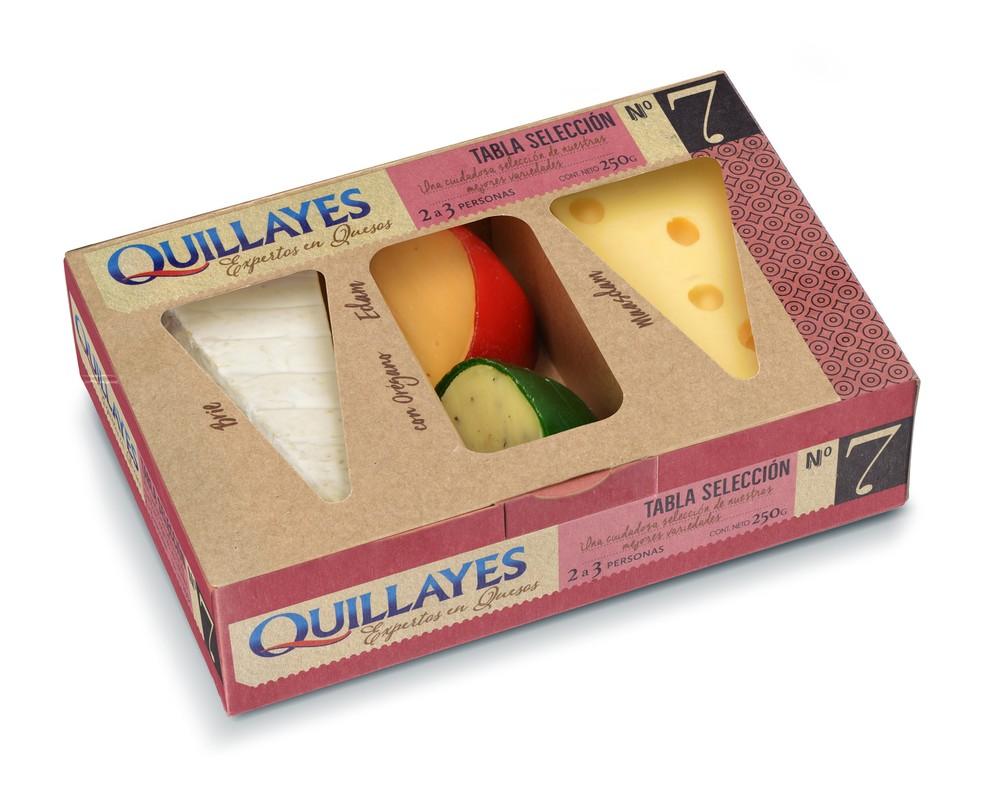 Tabla de quesos selección 7