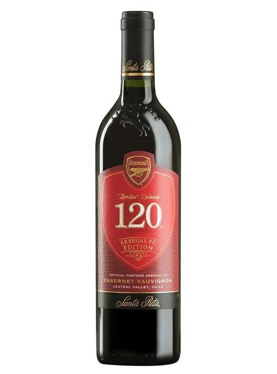 Vino tinto 120 Arsenal FC cabernet sauvignon