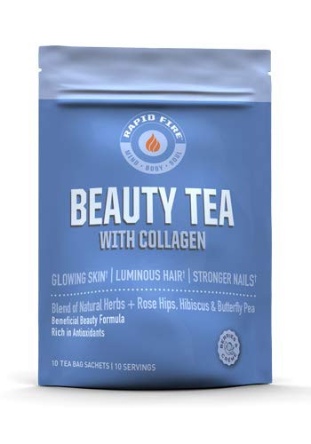 Beauty tea with collagen