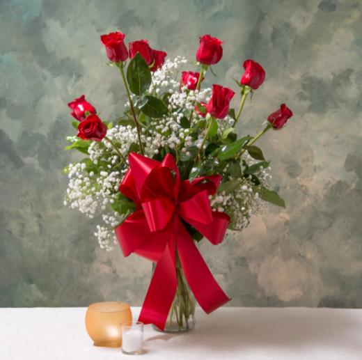 Dozen red roses 1 Arrangement