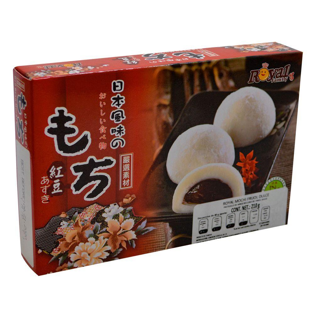 Mochi sabor frijol dulce Empaque 210g