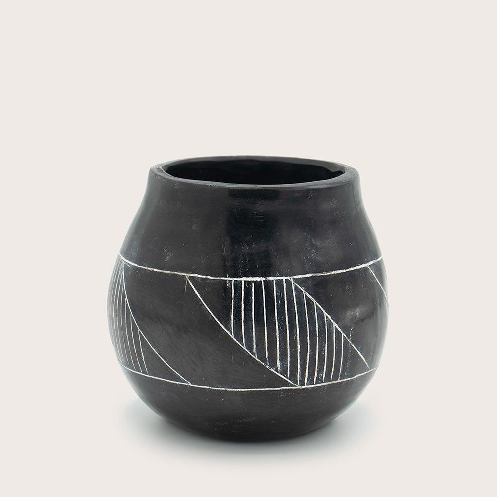Vasija del durazno - cerámica