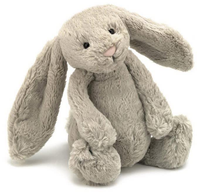 Peluche conejo beige extra grande