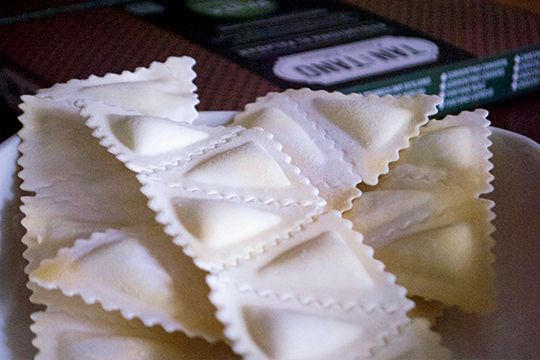 Triangolino quatro quesos 300 gr