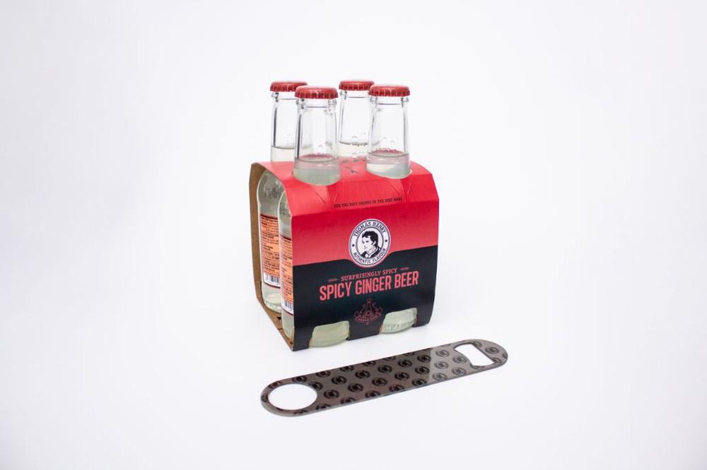 Ginger beer + destapador
