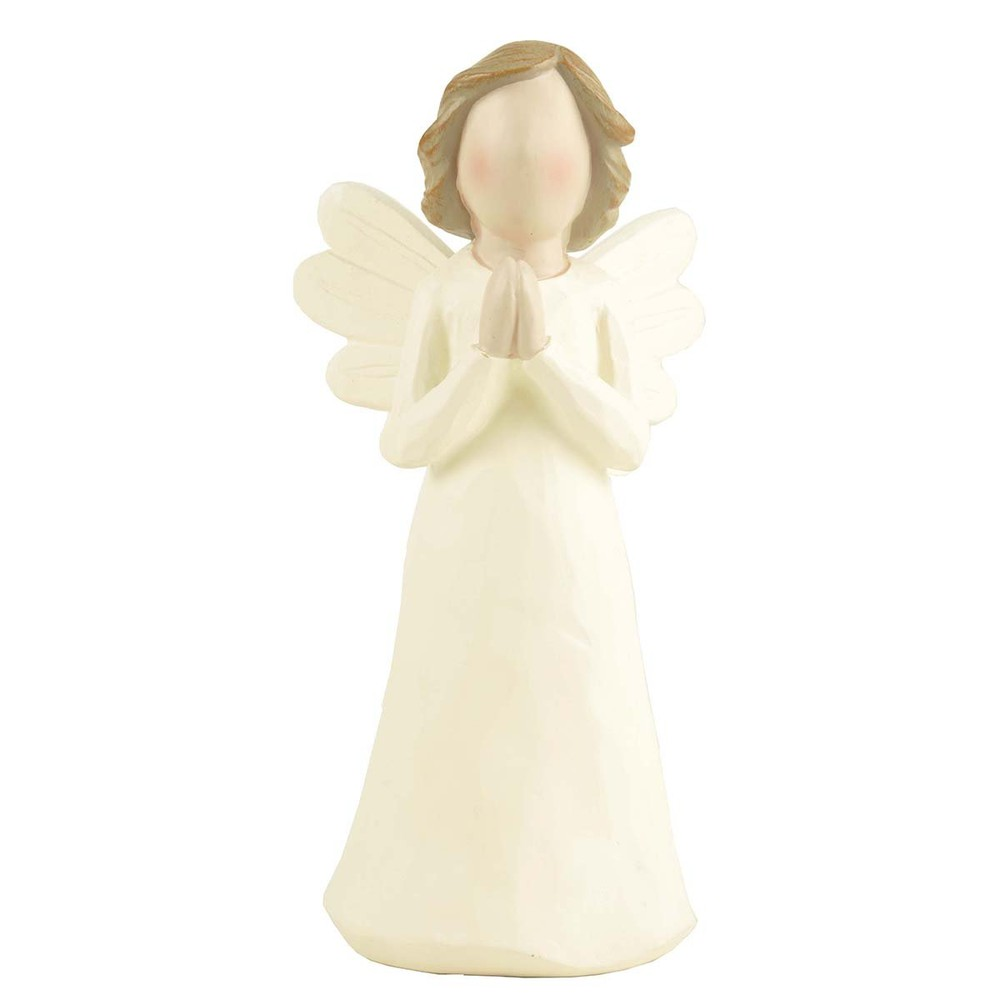 Angel orando Medidas: Largo:14,8 cms / Ancho: 7,5 cms / Profundidad:6,5 cms   Peso: 100 grms
