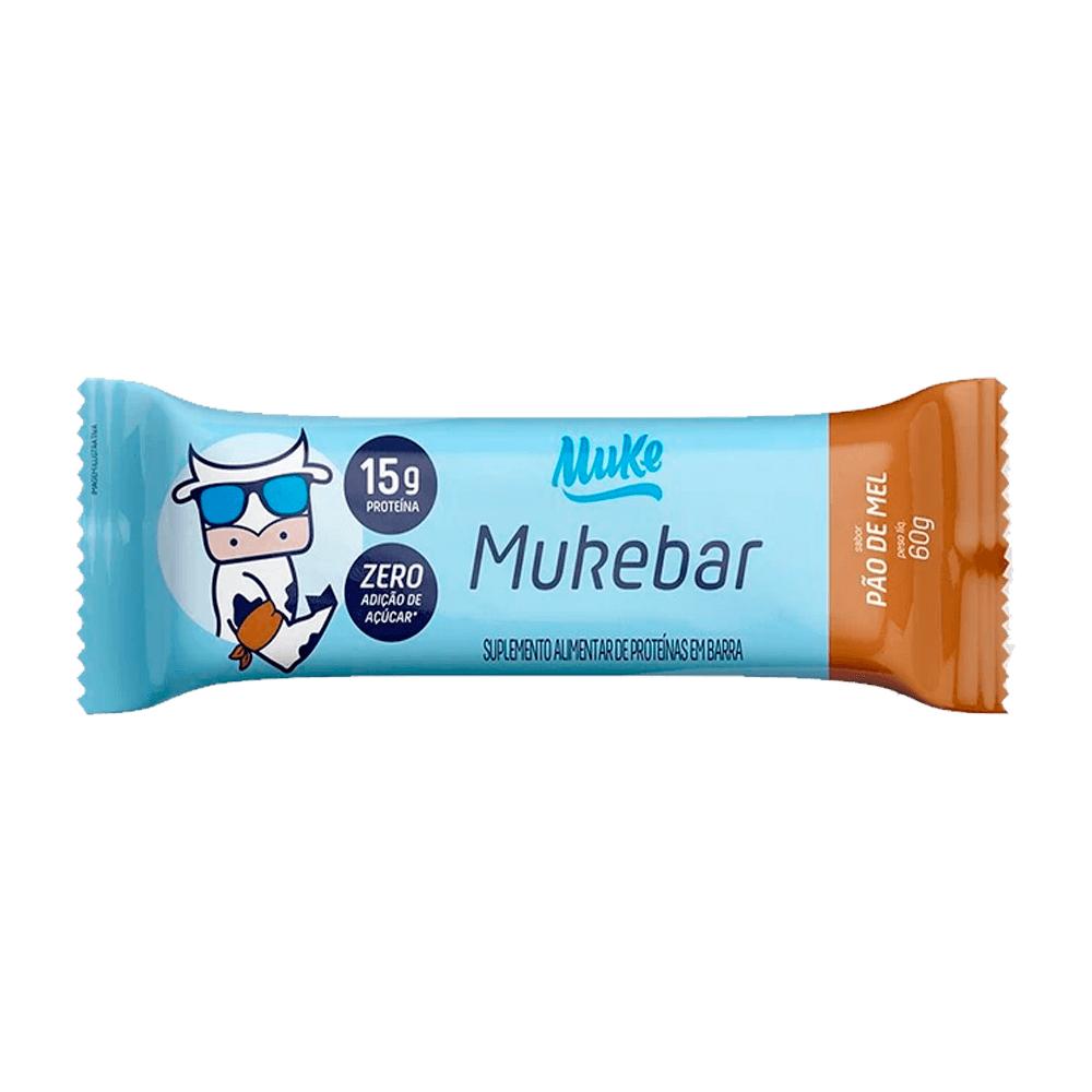Barra de proteina mukebar pão de mel