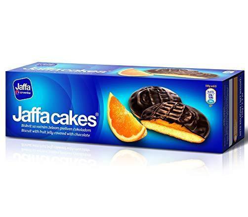 Jaffa cakes orange