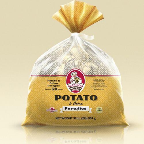 Grandma's pirogies - potato & onion UN