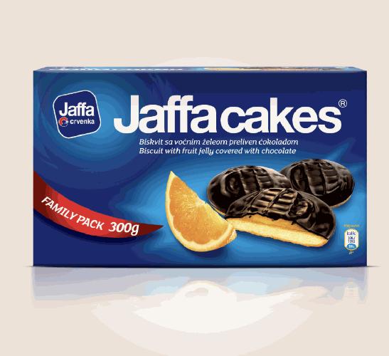 Jaffa cakes orange 300g