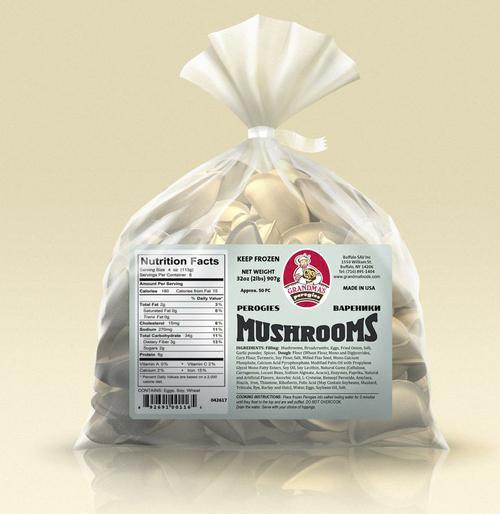 Grandma's pirogies - mushroom