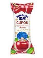 Sweet cheese snack cherry
