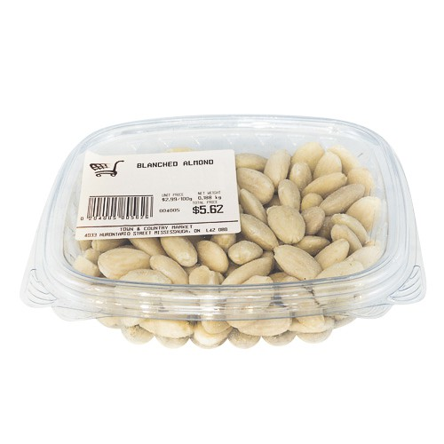 Blanched almond