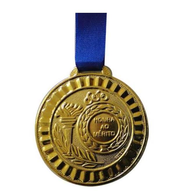 Medalha de ouro simples