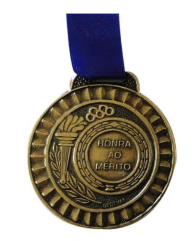 Medalha de bronze simple