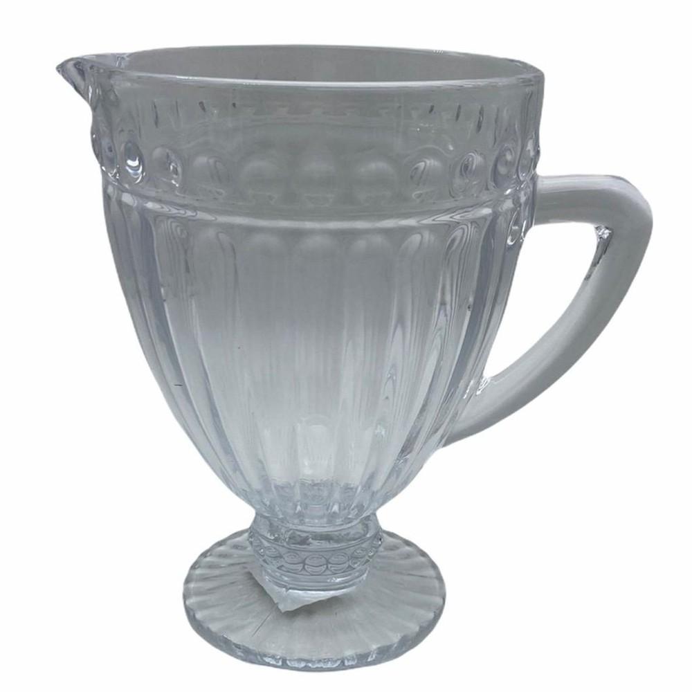 Jarro vidrio relieve