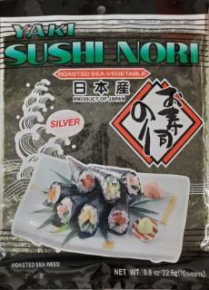 Yaki sushi nori silver seaweed for sushi from japan / 日本産 焼すしのり