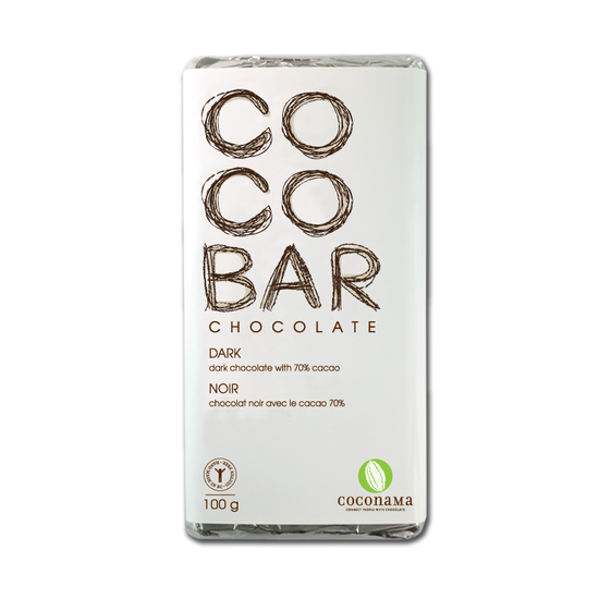 Coconama dark chocolate bar 板チョコ ダーク