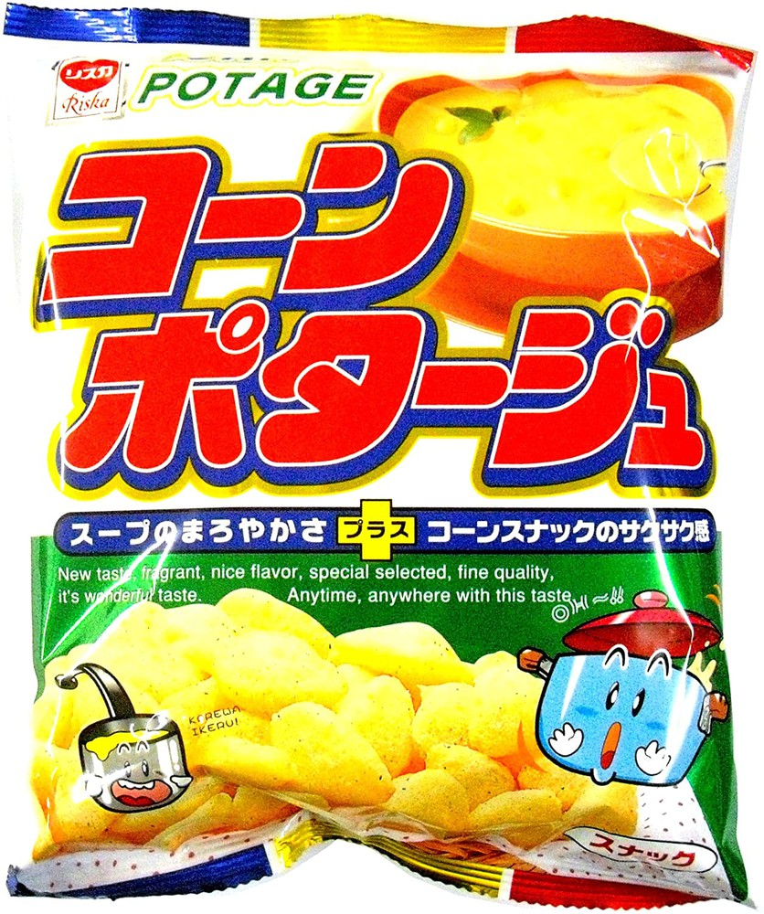 Snack corn potage / コーンポタージュスナック