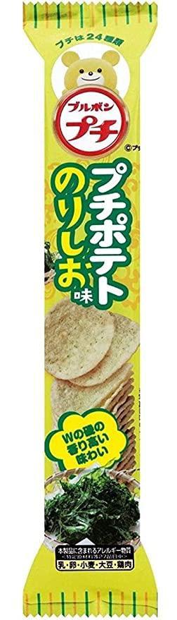 Petit chips salty seaweed / プチポテト のりしお