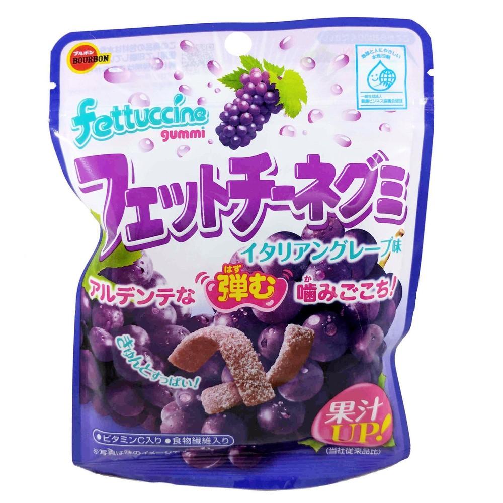 Fettuccine gummy candy grape /  フェットチーネグミ グレープ