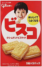 Bisco cream biscuit / ビスコ