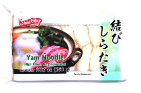 Shirataki tied noodle white / 結びしらたき