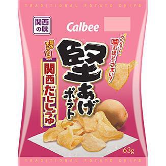 Kata age potato chips kansai dashi soy sause flavour / 堅あげポテト 関西だししょうゆ味
