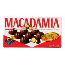 Meiji macadamia chocolate / マカダミアチョコレート