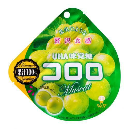 Cororo gummy candy muscat /  コロログミ マスカット