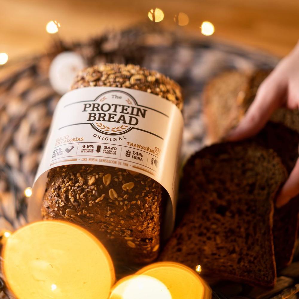 Pan de proteina bajo en carbohidratos 500gr