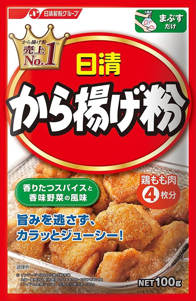 Nisshin seifun seasoning powder for karaage / から揚げ粉