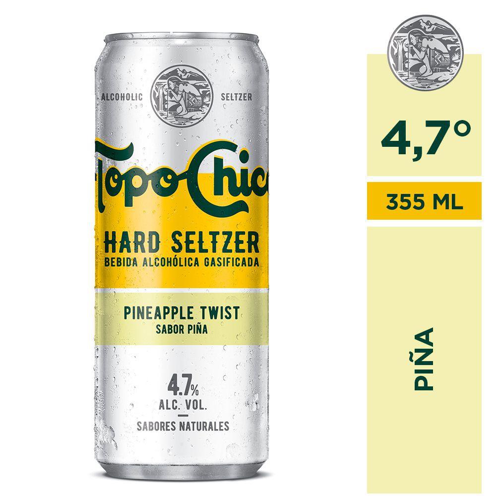 Hard Seltzer sabor piña
