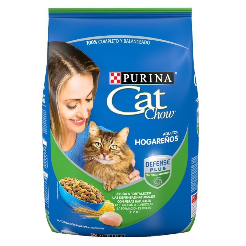 Alimento seco gato hogareño