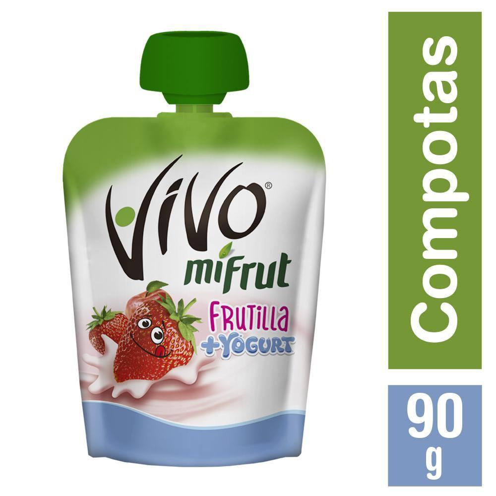 Compota Mifrut Frutilla + Yoghurt