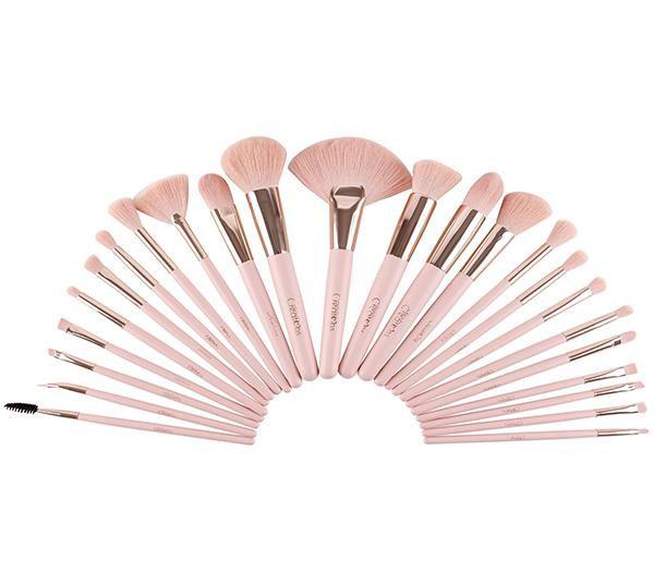 Set de brochas pretty in pink de 24 piezas Set 24 piezas
