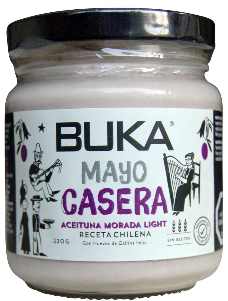 Mayonesa light sabor aceituna morada
