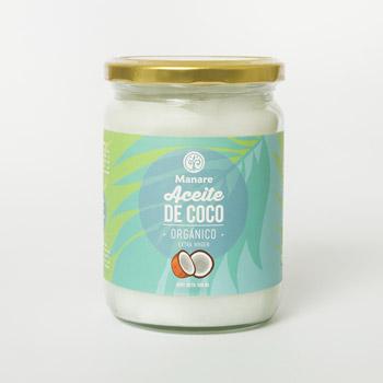 Aceite orgánico de coco