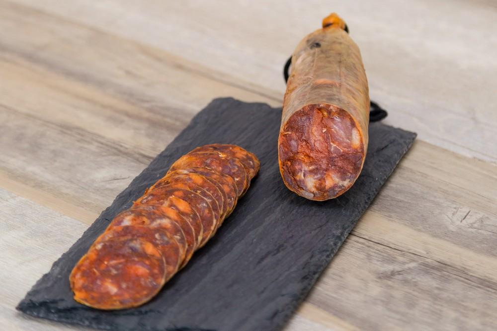 Acorn fed (bellota) iberico chorizo. 1LB