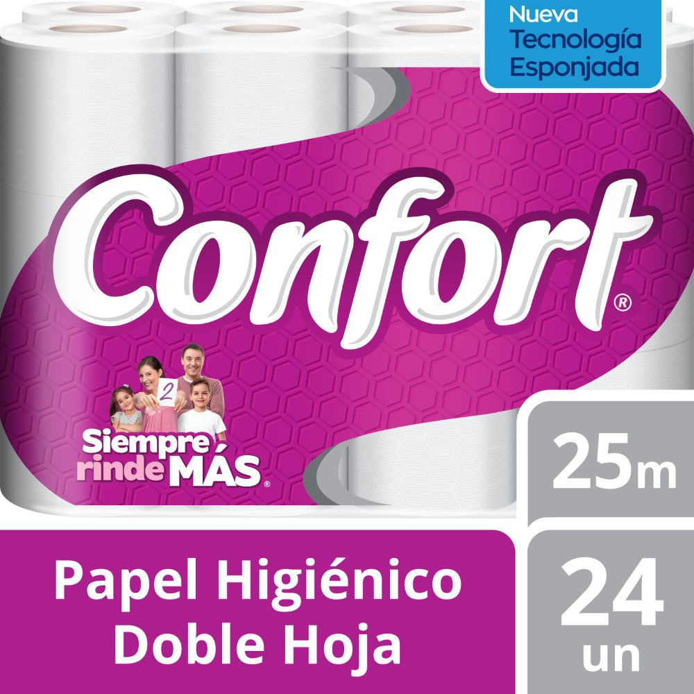 Papel higiénico doble hoja