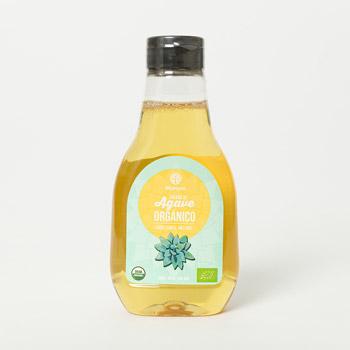 Néctar de agave crudo orgánico