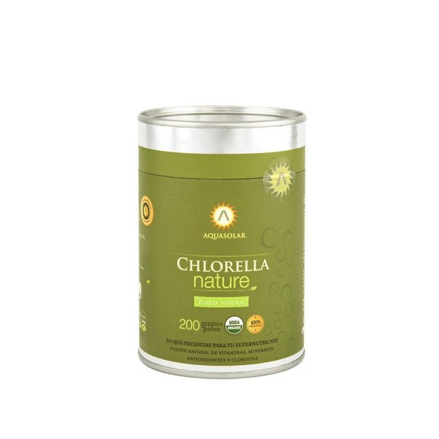 Chlorella polvo nature