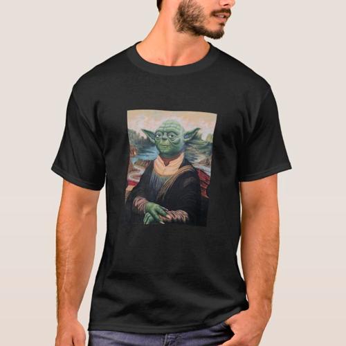 Polera Yoda lisa