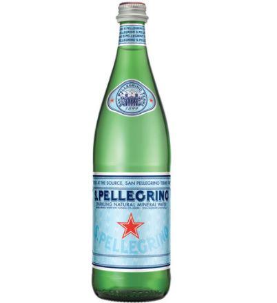 Agua mineral con gas Botella 505 ml