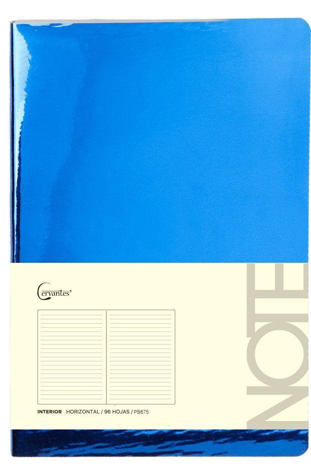 Cuaderno p/nota a5 c/elastico 210mmx145 cm x 96 hjs (mp)